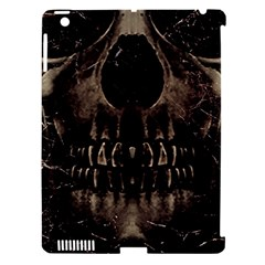 Skull Poster Background Apple iPad 3/4 Hardshell Case (Compatible with Smart Cover)