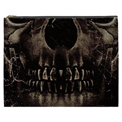 Skull Poster Background Cosmetic Bag (XXXL)