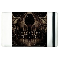 Skull Poster Background Apple Ipad 2 Flip Case
