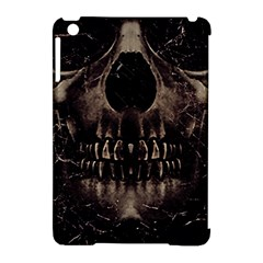 Skull Poster Background Apple iPad Mini Hardshell Case (Compatible with Smart Cover)