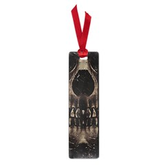 Skull Poster Background Small Bookmark