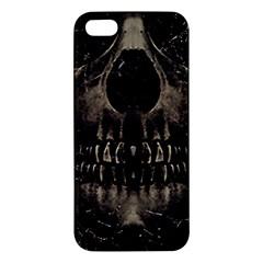 Skull Poster Background Apple Iphone 5 Premium Hardshell Case