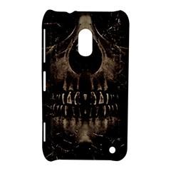 Skull Poster Background Nokia Lumia 620 Hardshell Case