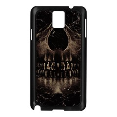 Skull Poster Background Samsung Galaxy Note 3 N9005 Case (Black)