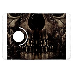 Skull Poster Background Kindle Fire Hdx 7  Flip 360 Case