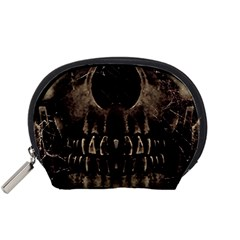 Skull Poster Background Accessories Pouch (Small)