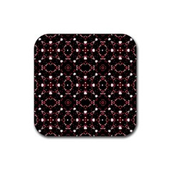 Futuristic Dark Pattern Drink Coasters 4 Pack (square)