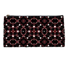 Futuristic Dark Pattern Pencil Case