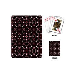 Futuristic Dark Pattern Playing Cards (Mini)