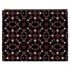 Futuristic Dark Pattern Cosmetic Bag (XXXL)
