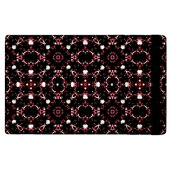 Futuristic Dark Pattern Apple iPad 3/4 Flip Case