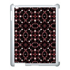 Futuristic Dark Pattern Apple iPad 3/4 Case (White)