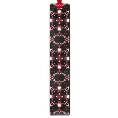 Futuristic Dark Pattern Large Bookmark