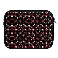 Futuristic Dark Pattern Apple iPad Zippered Sleeve