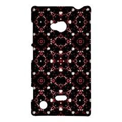 Futuristic Dark Pattern Nokia Lumia 720 Hardshell Case