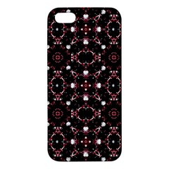 Futuristic Dark Pattern iPhone 5S Premium Hardshell Case