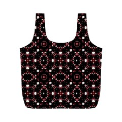 Futuristic Dark Pattern Reusable Bag (M)