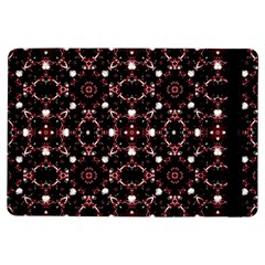 Futuristic Dark Pattern Apple Ipad Air Flip Case