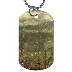 Flora And Fauna Dreamy Collage Dog Tag (one Sided)