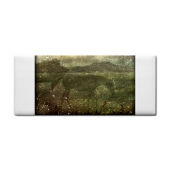 Flora And Fauna Dreamy Collage Hand Towel