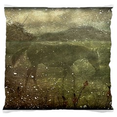 Flora And Fauna Dreamy Collage Large Cushion Case (Two Sided)