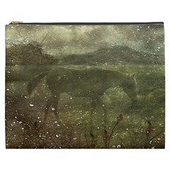 Flora And Fauna Dreamy Collage Cosmetic Bag (XXXL)