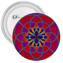 Mandala 3  Button