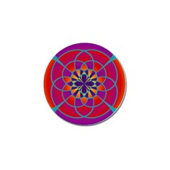 Mandala Golf Ball Marker 4 Pack