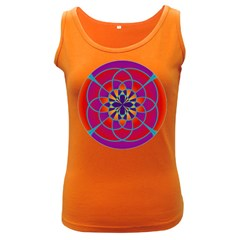 Mandala Women s Tank Top (Dark Colored)