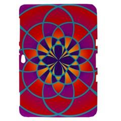 Mandala Samsung Galaxy Tab 8.9  P7300 Hardshell Case