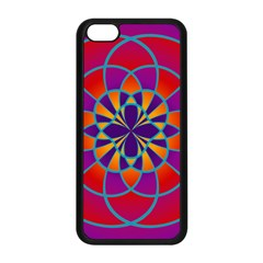 Mandala Apple iPhone 5C Seamless Case (Black)