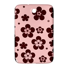 Pink With Brown Flowers Samsung Galaxy Note 8.0 N5100 Hardshell Case