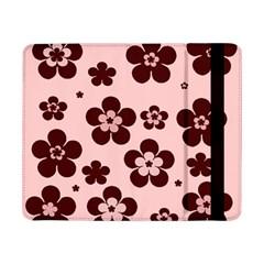 Pink With Brown Flowers Samsung Galaxy Tab Pro 8.4  Flip Case