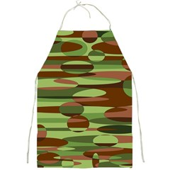 Green and Brown Spheres by Khoncepts.com Full Print Apron
