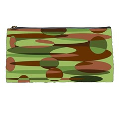 Green And Brown Spheres By Khoncepts Com Pencil Case