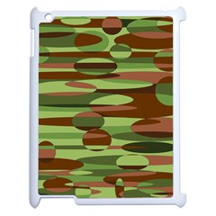 Green And Brown Spheres By Khoncepts Com Apple Ipad 2 Case (white)