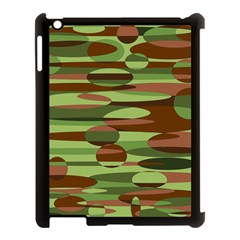 Green And Brown Spheres By Khoncepts Com Apple Ipad 3/4 Case (black)