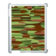 Green And Brown Spheres By Khoncepts Com Apple Ipad 3/4 Case (white)