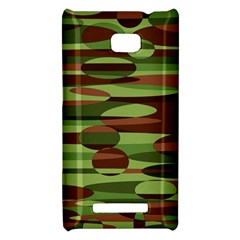 Green and Brown Spheres by Khoncepts.com HTC 8X Hardshell Case