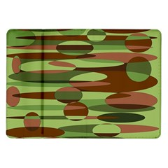 Green and Brown Spheres by Khoncepts.com Samsung Galaxy Tab 10.1  P7500 Flip Case