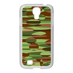 Green And Brown Spheres By Khoncepts Com Samsung Galaxy S4 I9500/ I9505 Case (white)