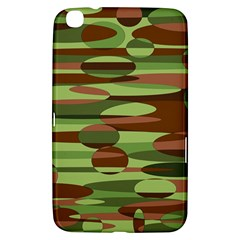 Green And Brown Spheres By Khoncepts Com Samsung Galaxy Tab 3 (8 ) T3100 Hardshell Case