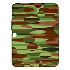 Green And Brown Spheres By Khoncepts Com Samsung Galaxy Tab 3 (10 1 ) P5200 Hardshell Case