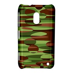 Green And Brown Spheres By Khoncepts Com Nokia Lumia 620 Hardshell Case