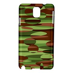Green and Brown Spheres by Khoncepts.com Samsung Galaxy Note 3 N9005 Hardshell Case
