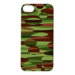 Green and Brown Spheres by Khoncepts.com Apple iPhone 5S Hardshell Case