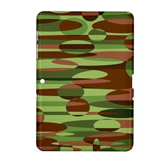 Green and Brown Spheres by Khoncepts.com Samsung Galaxy Tab 2 (10.1 ) P5100 Hardshell Case