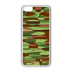 Green and Brown Spheres by Khoncepts.com Apple iPhone 5C Seamless Case (White)