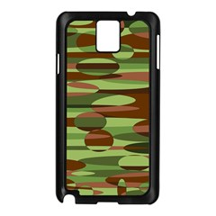 Green and Brown Spheres by Khoncepts.com Samsung Galaxy Note 3 N9005 Case (Black)