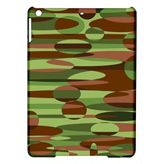 Green and Brown Spheres by Khoncepts.com Apple iPad Air Hardshell Case